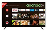 Telefunken XU65AJ600 65 Zoll Fernseher / Android TV (4K Ultra HD, HDR, Triple-Tuner, Smart TV, Bluetooth) [Modelljahr 2021]
