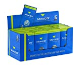 MINICO Premium Zigarettenfilter 8mm Regular für Raucher,Box(480 Stück) Zigarettenfilter aufsatz|Zigarettenfilter Halterung|Teer Filter|Nikotin Filter|Plastik Mikro Filtrationssystem|Zigarettenspitzen