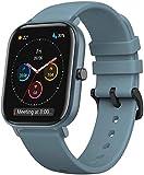 Amazfit GTS Sport Smartwatch Uhr | 14 Tage Batterie | GPS + Glonass | BioTracker PPG Biologischer Trackingsensor | Herzfrequenz | Schwimmen | Bluetooth 5.0 (iOS & Android) Blau, 3457450031