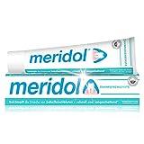meridol Zahnpasta, 1 x 75 ml - Zahncreme zur täglichen Zahn- und Zahnfleischpflege, antibakterieller Effekt