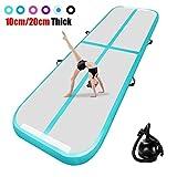airtrack matte 20cm hoch 3M Aufblasbare turnmatte AirTrack Gymnastik Yogamatte Taekwondo Camping Trainingsmatte mit elektrischer Pumpe