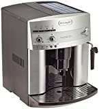 De'Longhi Magnifica ESAM 3200 S Kaffeevollautomat (Bedienfeld mit Direktwahltasten, Milchaufschumdse, Kegelmahlwerk 13 Stufen, Herausnehmbare Brhgruppe, 2-Tassen-Funktion) silber
