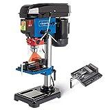 Scheppach DP16VLS Tischbohrmaschine 500W 600-2600 min-1, 250mm max. Abstand, Laser
