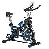 ArtSport Heimtrainer Fahrrad RapidPace mit 10 kg Schwungrad – Ergometer inkl. Riemenantrieb & stufenloser Widerstand - Speedbike mit LCD Display