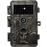 GardePro A3S Wildkamera 24MP 1080P H.264 HD Video Wildtierkamera mit Klarer 30M No Glow Infrarot 0.1S Schnelle Trigger Nachtsicht Bewegungsmelder, 120° Erfassungswinkel,IP66 Wasserdicht