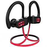 Mpow Flame Bluetooth Kopfhörer, IPX7 Wasserdicht Kopfhörer Sport, Bluetooth 5.0/7-10 Stunden Spielzeit/Bass Technologie, Sportkopfhörer Joggen/Laufen, In Ear Kopfhörer mit HD-Mikrofon