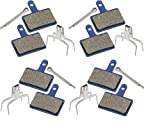 P4B   4 Sets Fahrrad Bremsbeläge für Ihre Scheibenbremse   Kompatible mit Shimano® /PROMAX® /TEKTRO® /Clarks® /Giant® /ALHONGA® /SACCON® und viele mehr   Disc Pads