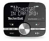 TechniSat Digitradio Car 2 DAB+ Adapter (zum Aufrüsten von Auto-Radios, FM-Transmitter für DAB+ Sender mit Bluetooth und Freisprecheinrichtung mit Wireless Controller)