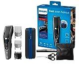 Philips HC7650/15, Haarschneider für Zuhause mit 28 Längeneinstellungen, Frisierumhang, Kamm, Schere und Aufbewahrungstasche
