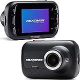 Nextbase 122 – Autokamera Dashcam Auto – Full 720p/30fps HD Aufzeichnung - 120° Weitwinkel GSensor Parküberwachung Kompatibel mit Polarisationsfilter