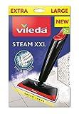 Vileda Steam XXL Power Pad Nachfüllpack für Dampfbesen, Weiß, One Size