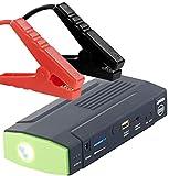 reVolt Autostarter: Notebook-Powerbank mit Kfz-Starthilfe & LED-Leuchte, 8.000 mAh, 400 A (Kfz Starter)