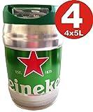 4 x Heineken Partyfass 5L draughtkeg 5% vol.