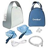 Omnibus Premium BR-CN151 Inhaliergerät Inhalator Aerosol Therapie Vernebler Inhalation Kompressor