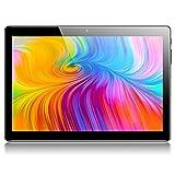 Tablet 10 Zoll Android 8.1 Padgene Tablet PC 3G Phablet mit 2 GB RAM 32 GB ROM, 1280 x 800 G+G Bildschirm, Dual SIM Karten Slot Dual Kamera 2MP/5MP WiFi entsperrt Bluetooth GPS