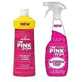 The Pink Stuff Badezimmer-Schaumreiniger und WC-Reiniger-Set