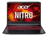 Acer Nitro 5 (AN515-55-59DJ) Gaming Laptop 15.6 Zoll Windows 10 Home - FHD 144 Hz IPS Display, Intel Core i5-10300H, 8 GB DDR4 RAM, 512 GB M.2 PCIe SSD, NVIDIA GeForce RTX 3050 - 4 GB GDDR6