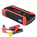 LUCKLY Auto Notstartstrom, 89800mAh 12V LCD 4 USB Auto Starthilfe Pack Booster Ladegerät Batterie Power Bank