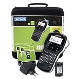 DYMO LabelManager 280 Wiederaufladbares Beschriftungsgerät im Koffer | Tragbares Etikettiergerät mit QWERTZ Tastatur | mit PC- oder Mac-Schnittstelle