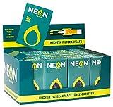 NEON Zigarettenfilter reduziert Teer und Nikotin 24x30 Stück