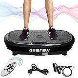Merax Profi Vibrationsplatte 3D Wipp Vibration Technologie + Bluetooth Musik, Riesige Flche, 2 Kraftvolle Motoren + Einmaliges Design + Trainingsbnder + Fernbedienung
