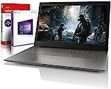 Lenovo (17,3 Zoll) Notebook (Intel Pentium 4415U 4-Thread CPU, 2.30 GHz, 8GB DDR4 RAM, 512GB SSD, Intel HD 610, HDMI, Webcam, Bluetooth, USB3.0, WLAN, Win 10 Prof. 64 Bit, MS Office) #6150
