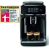 Philips 2200 Serie EP2221/40 Kaffeevollautomat (SensorTouch Benutzeroberfläche) schwarz/ Klavierlack-Schwarz