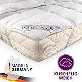 PROCAVE Matratzen-Schoner Micro-Comfort in Verschiedenen Größen, Matratzen-Auflage 100% aus Deutschland, Unterbett Soft-Matratzen-Topper, Matratzenschutz Boxspring-Betten geeignet, Made in Germany 90x200 cm