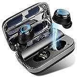Battery LED Display Bluetooth Kopfh/örer In Ear Kopfh/örer Kabellos mit 125 Stunden Spielzeit Wireless Kopfh/örer Sport Ohrh/örer IPX7 Wasserdicht Stereoanrufe Stereo Deep Bass,Touch-Control