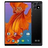 ELLENS Tablet 8 Zoll Android 6.0, 3G Entsperrtes Phablet mit Zwei SIM-Kartensteckplätzen und Kameras, Tablet PC mit WiFi, GPS, Bluetooth