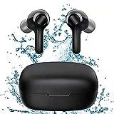 Bluetooth Kopfhörer, Comeproof In Ear Kabellose Kopfhörer, IPX8 Wasserdicht Stereo Bass TWS Wireless Earbuds, mit Touch Tasten, Aufladen mit USB-C, für Sports, Arbeit und unterwegs