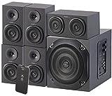 auvisio PC Soundsystem: Analoges 5.1-Lautsprecher-System für PC, TV, DVD, Beamer & Co, 120 W (Soundsysteme)