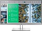 HP EliteDisplay E243 (23,8 Zoll / Full HD) Business Monitor (HDMI, DisplayPort, VGA, USB 3.0, Pivotfunktion, Reaktionszeit 5ms, 60Hz) schwarz-silber