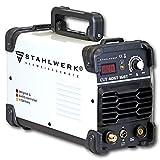 STAHLWERK CUT 40 ST IGBT Plasmaschneider mit 40 Ampere, bis 10 mm Schneidleistung, für Lackierte Bleche & Flugrost geeignet, 7 Jahre Herstellergarantie