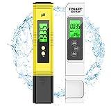 pH Messgerät,PH TDS EC und Temperatur 4 in 1 Set pH Wert Messgerät Wasser Pool Messgerät Chlor und ph Chlor Messgerät für Pool das Aquarium Chlormessgerät ph Messgerät Digitaler LCD Display