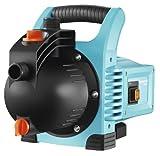GARDENA Gartenpumpe Classic 3000/4: Bewässerungspumpe für den Einsatz im Freien, mit 3100 l/h Fördermenge, geräuscharm und langlebig, mit Wasser-Ablassschraube, wartungsfrei, hohe Saugkraft (1707-20)