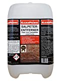Salpeterentferner 5 Liter | Salpeterreiniger Salpeter-Entferner bei Ausblühungen auf Mauern, Putz, Naturstein, Ziegeln