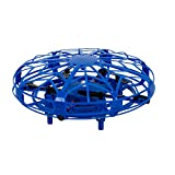 Maginon TQC-1, Kinderdrohne, Indoor Mini-Drohne für Kinder. Kinderleicht zu Fliegender Quadro-Copter in blau