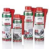 MATHY Diesel-Komplett-Kur - Reinigungsset Diesel System Reiniger + Injektor Reiniger + AGR-Ventil Reiniger + Dieselpartikelfilter Reiniger - Diesel Kraftstoff Additive, 250 ml + 200 ml + 2 x 300 ml