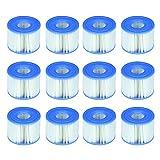 Intex 29001E B00PUZW3N2 PureSpa Typ S1 Easy Set Pool Kartuschen (12 Filter)   2, 1 Pack, blau