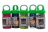Muxel Ice Tuch, Cool Down Towel EIS-Kühltuch bei Sport und Fitness Sporthandtuch 5 Farben 5 Stück