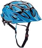 ALPINA MYTHOS 3.0 Fahrradhelm, Unisex– Erwachsene, black blue, 52-57