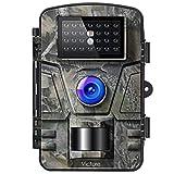 Victure Wildkamera mit Bewegungsmelder Nachtsicht Fotofalle 16MP 1080P Full HD Video mit IP66 Wasserdicht Infrarot Beutekameras für die Überwachung von Wildtieren und Sicherheit zu Hause