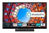 Toshiba 32LK3C63DA 32 Zoll Fernseher (Full HD, Smart TV, Prime Video / Netflix, Alexa Built-In, Bluetooth, WLAN, Triple Tuner), schwarz
