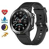 Blackview Smartwatch, Sportuhr Touchscreen Fitnessuhr mit Pulsuhr Fitness Tracker 5ATM Wasserdicht Smart Watch mit Schrittzähler, Schlafmonitor Stoppuhr für Damen Herren für Android iOS Kompatibel