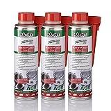 MATHY-AGR Abgasrückführungsventil Reiniger 3 x 300 ml - Diesel Additiv für Dieselmotoren - Diesel Zusatz - Einfache Anwendung über den Tank - AGR-Ventil Reiniger - Kraftstoffadditiv