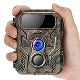 Victure Mini-Wildkamera mit Bewegungsmelder Nachtsichtgerät 16MP 1080P IP66 wasserdicht zur Überwachung von Wildtieren und Sicherheit zu Hause