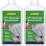Gardopia Sparpaket: Bondex WPC-Reiniger Konzentrat 4168 Holz-Kunststoff-Reiniger, 2 x 1 Liter
