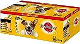 Pedigree Hundefutter Nassfutter Adult in Sauce, 40 Portionsbeutel (40 x 100g)