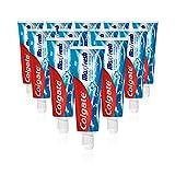 Colgate Zahnpasta Max Fresh Cooling Crystals, 12 x 75 ml - Zahncreme mit überraschendem Frischegefühl, hält die Zähne weiß